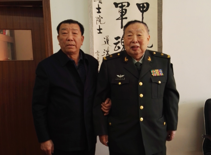 徐滨士院士与华民合作签字