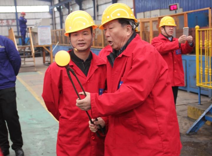 紫金集团多宝山铜业客户来访